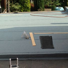 materials for fixing a customers roof